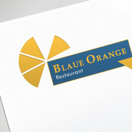 Logo, Kunde: Hotel Kasseler Hof, Restaurant Blaue Orange